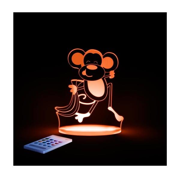 Dziecięca lampka nocna LED Aloka Małpka
