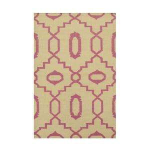 Ręcznie tkany dywan Kilim JP 11019 Pink, 90x150 cm
