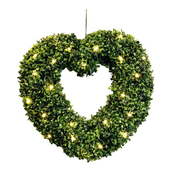 Świecąca dekoracja Heart, 45 cm