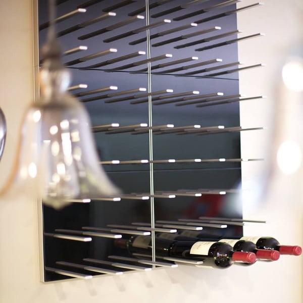 Stojak na wino STACT, orzech