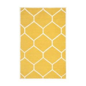 Dywan Lulu Yellow, 121x182 cm