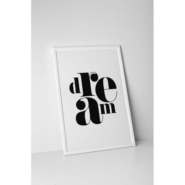 Plakat autorski Dream, A4
