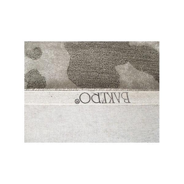 Dywan ręcznie tkany Disco, 153x244 cm, srebrny
