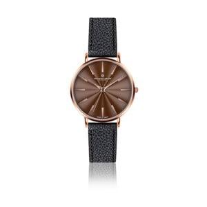 Zegarek damski z czarnym paskiem skórzanym Frederic Graff Rose Monte Rosa Lychee Black Leather