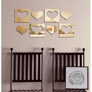 Lustro dekoracyjne Osiem serc