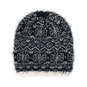 Czarno-biała czapka Korma