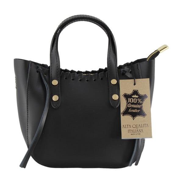 Czarna torebka skórzana Anna