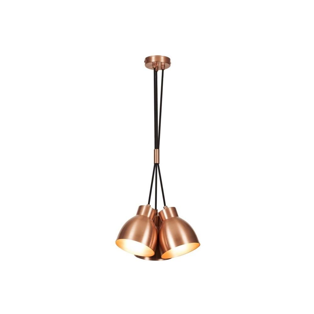 Lampa wisząca w kolorze miedzi Tevior