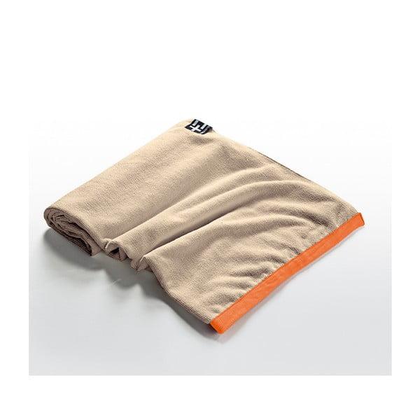 Ręcznik plażowy Agi Moe 80x160 cm, brązowy