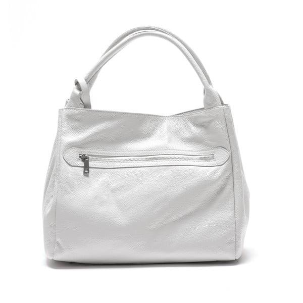 Skórzana torebka Mangotti 1110, biała