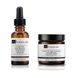 Zestaw maseczki na noc i serum do twarzy Dr.Botanicals Coco Noir