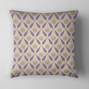 Poduszka Purple Leaves, 43x43 cm