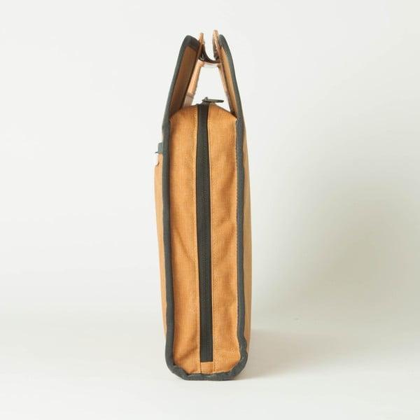 Torba/etui na notebook R Brief 110 Kodra, musztardowe