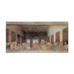 Obraz Leonardo Da Vinci - Ostatnia Wieczerza, 100x50 cm