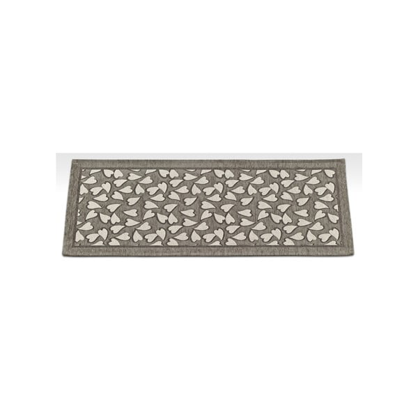 Wytrzymały dywan kuchenny Webtapetti Corazon Fango, 55x240 cm
