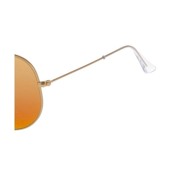 Okulary przeciwsłoneczne Ray-Ban Aviator Flash Gold Fire
