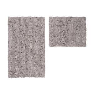 Zestaw 2 dywaników łazienkowych Surface Taupe