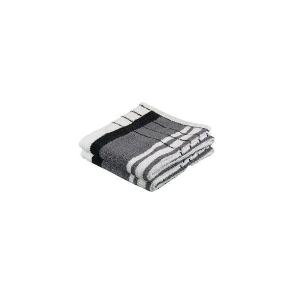 Ręcznik Berlin Antracite/Black, 70x140 cm