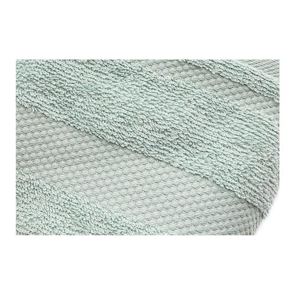 Zestaw 2 jasnoniebieskich ręczników Clio