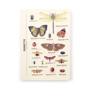 Notes Gift Republic Insects, rozm.A5