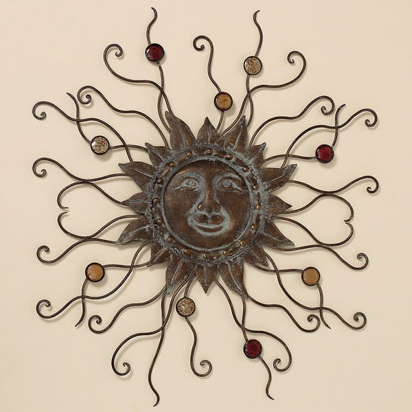 Dekoracja ścienna Sun, 69 cm