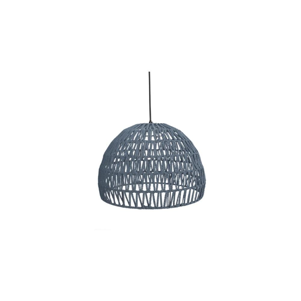 Szara lampa wisząca LABEL51 Rope, ⌀ 38 cm