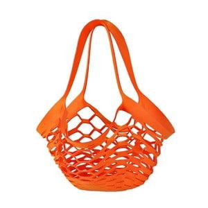 Filcowa torebka siatkowa, pomarańczowa