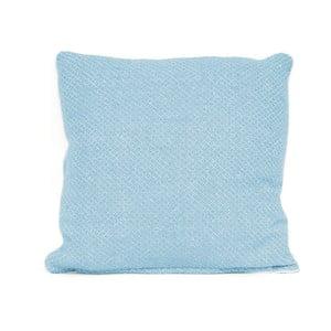 Niebieska poduszka z wypełnieniem Present Time Cozy