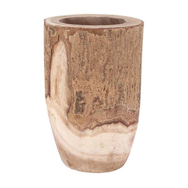 Drewniany wazon Vorsteen Paulo Vase,27cm