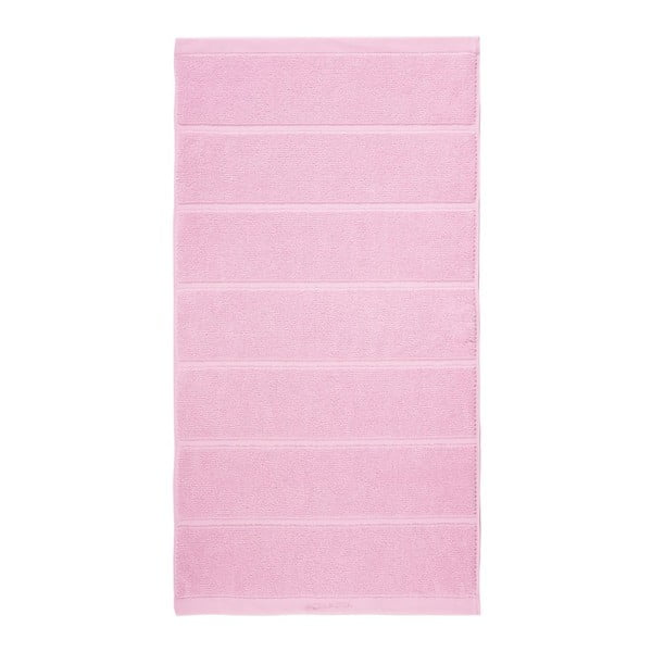 Różowy ręcznik Aquanova Adagio, 55x100cm