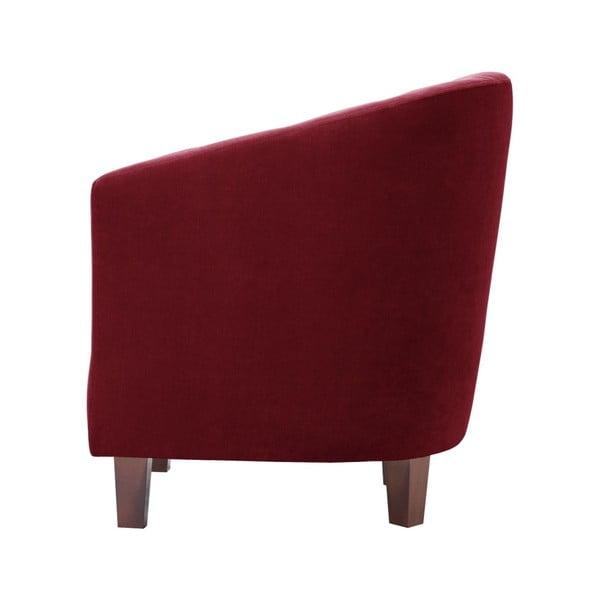 Czerwony fotel Jalouse Maison Romy