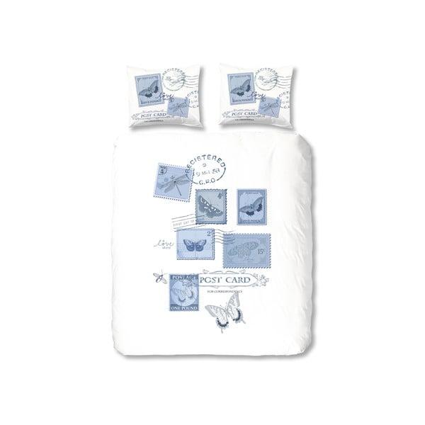Pościel Postage, 240x200 cm, niebieska