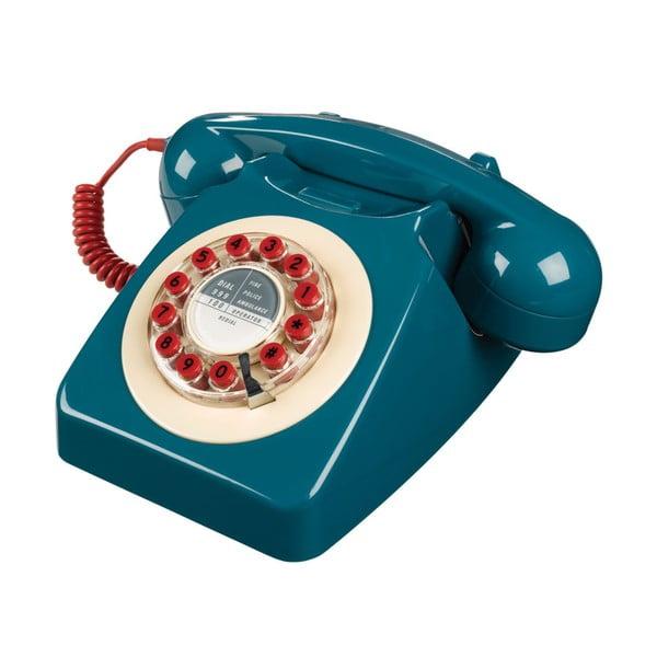 Telefon stacjonarny w stylu retro Serie 746 Blue