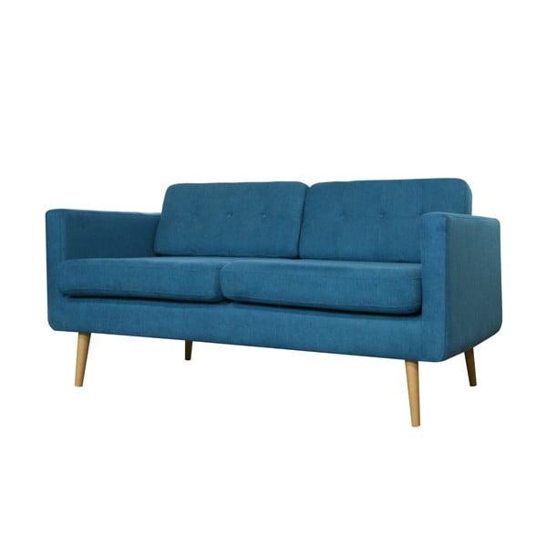 Dwuosobowa sofa York, niebieska