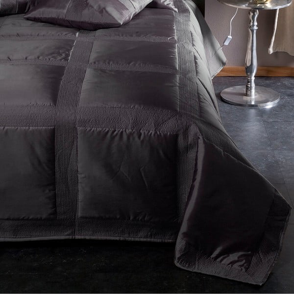 Narzuta na łóżko Montana Anthracite, 270x270 cm