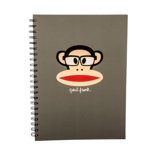 Notatnik Paul Frank Grey Monkey