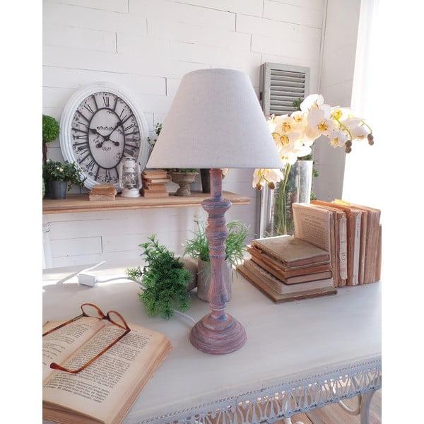 Lampa stołowa Rusty Blue, 22x44 cm