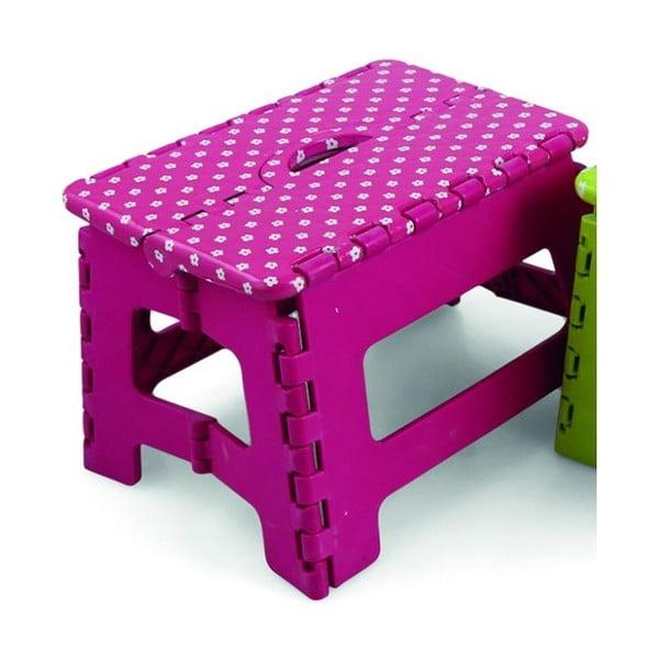 Składany stołek Roseta