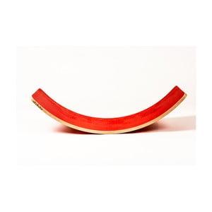Czerwona deska bukowa do balansowania Utukutu, dł.82cm