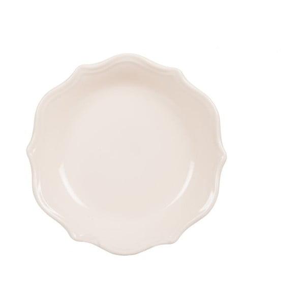Komplet 18 talerzy ceramicznych Bologne White