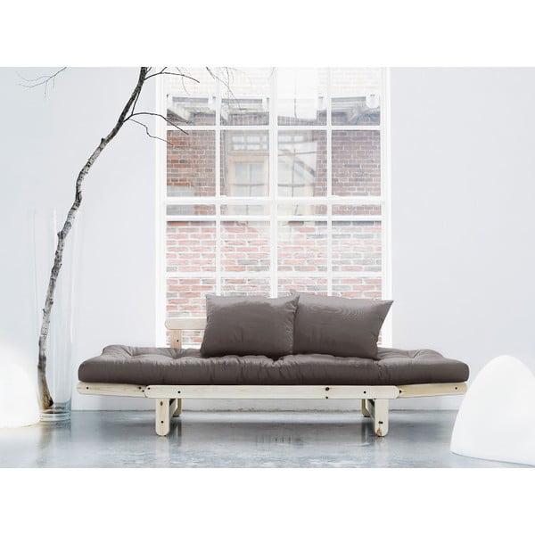Sofa rozkładana Karup Beat Natural/Gris