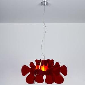 Lampa wisząca Aralia Family Emporium, czerwona