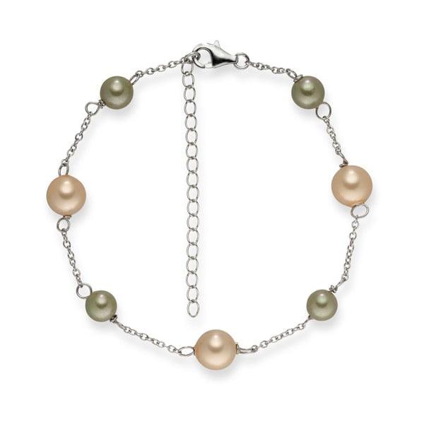 Bransoletka   perłowa Pearls of London Elegance, dł. 19 cm