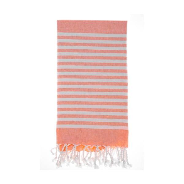 Ręcznik hammam Efes Orange 100x180 cm