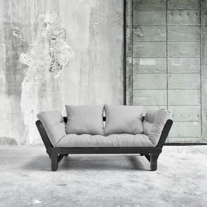 Sofa rozkładana Beat Black/Light Grey