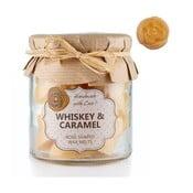 Zestaw 18 małych świeczek zapachowych Whiskey and Caramel