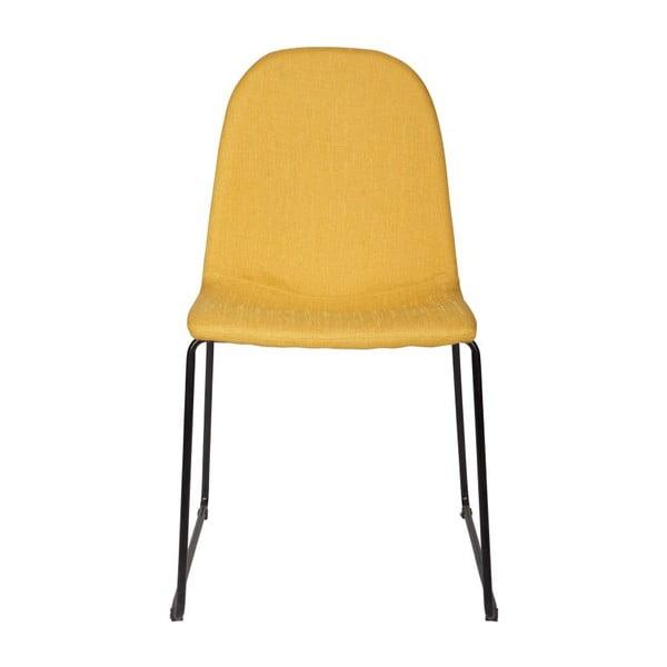 Zestaw 2 krzeseł Cooper Yellow