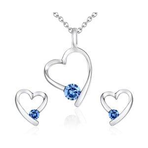 Naszyjnik i kolczyki z kryształami Swarovski Lilly & Chloe Alais