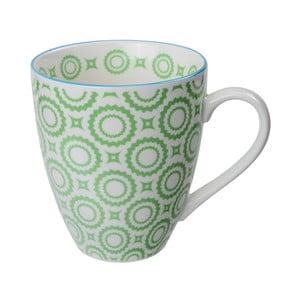 Porcelanowy kubek Orient Green, 8,7 x9,8 cm