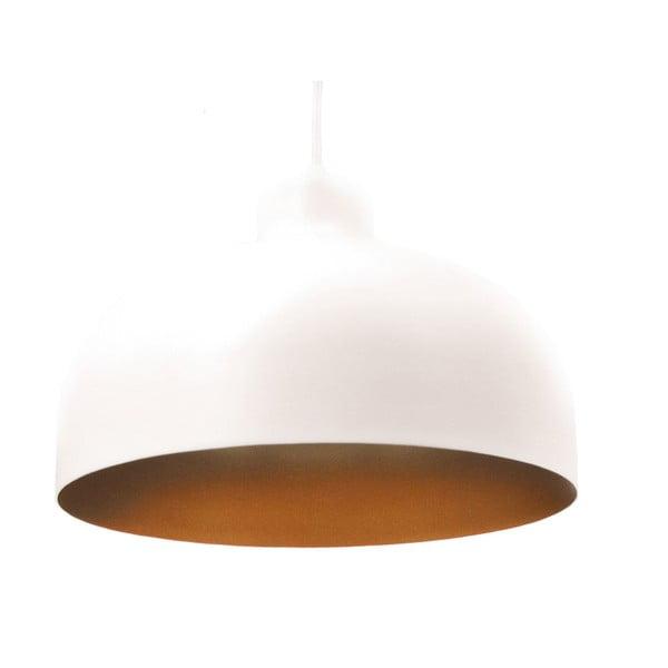 Biało-złota lampa wisząca Loft You B&B, 44 cm